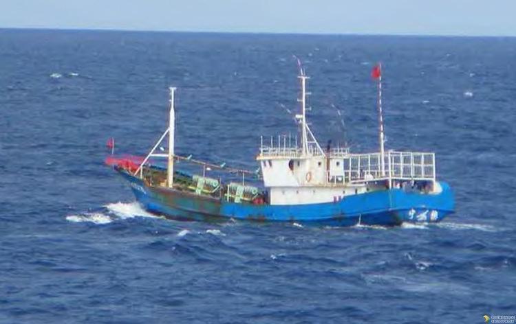 石狮市中国渔政35328号艇获评泉州市海上搜救先进船艇